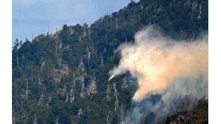 Chubut: incendios forestales arrasaron unas 500 hectáreas en la montaña