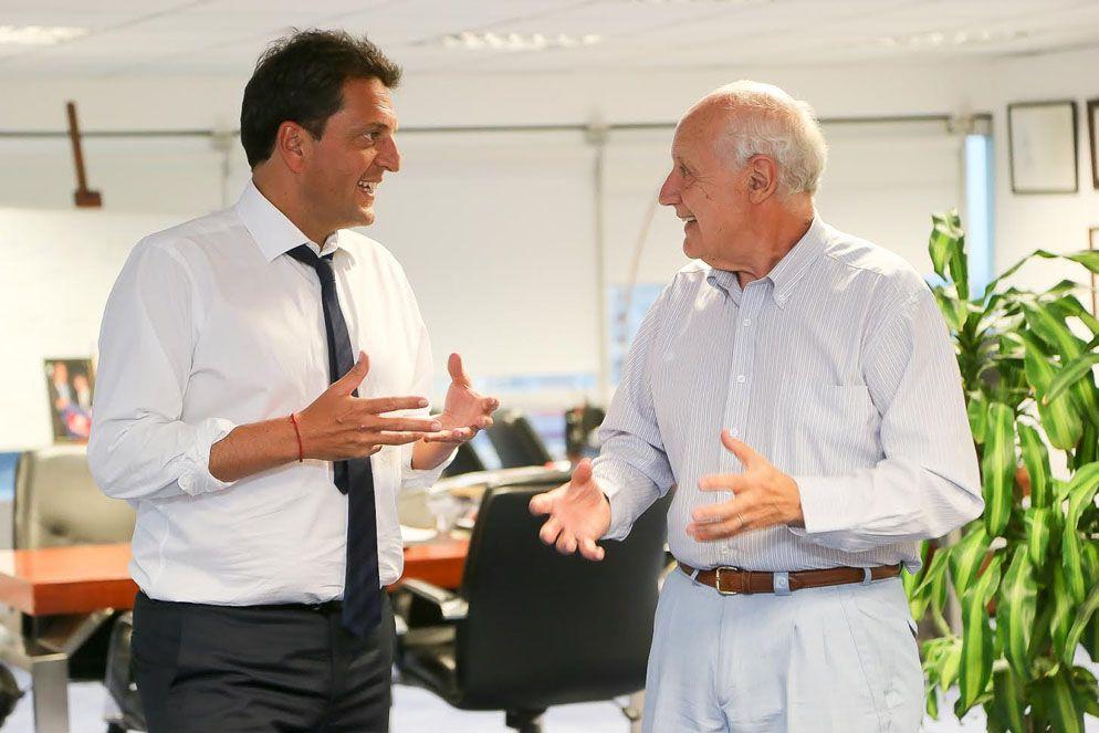 Massa presentará a los miembros del gabinete liderado por Lavagna