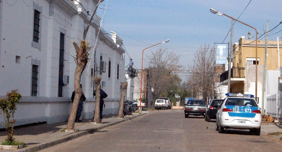 Cárcel de Concepción del Uruguay. (Foto: 03442.com.ar)