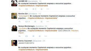 Un mensaje contra Capitanich infectó varias cuentas de Twitter