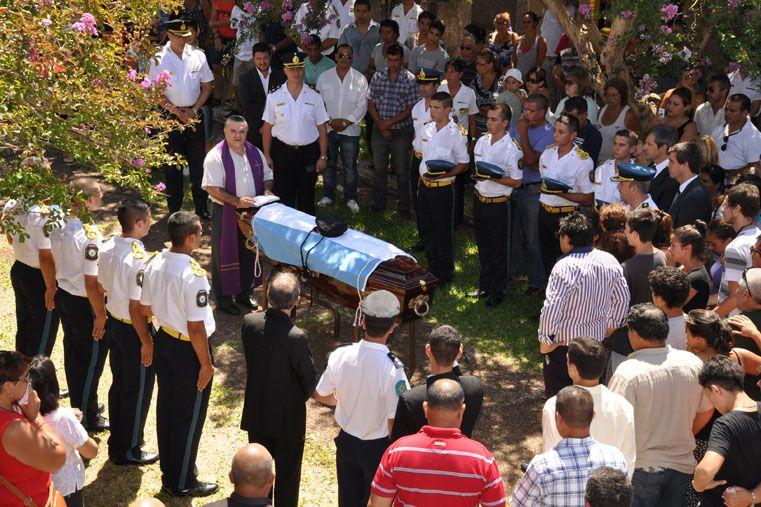Despidieron los restos del sargento Néstor Fernández en Concordia