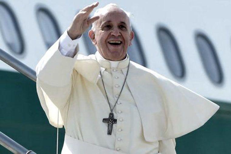 Paz. El Sumo Pontífice pidió otra vez que recen por él.   Foto: AP
