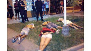 Detienen a cuatro rafaelinos armados en Paraná