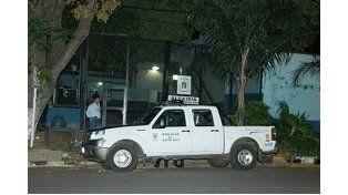 La Alcaidía de donde se escapó el recluso. (Foto: Diario Río Uruguay)