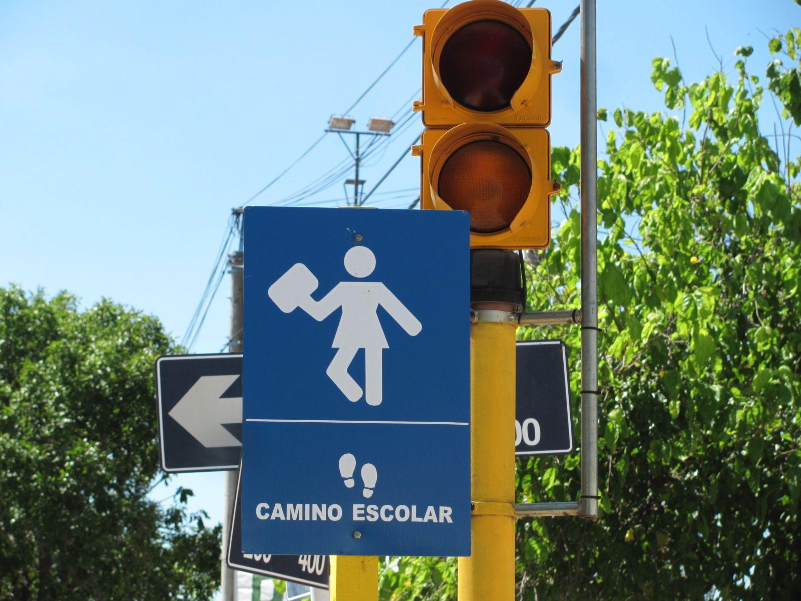 Plan integral de seguridad vial. Con distintas obras
