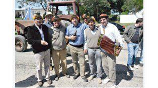 ORGANIZADORES. Los impulsores de la Traktor Fest