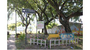 Mucho verde. La plaza Verdiana también es un lugar que se destaca.  (Foto UNO/Diego Arias)