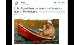 Luis Miguel es víctima de memes por supuesta gordura