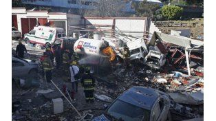 Dos muertos en una explosión de gas en un hospital materno infantil de México