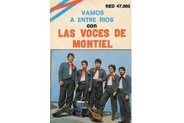 RECUERDO. Carátula de un cassette grabado por el grupo en 1984.