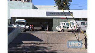 La agredida está internada en el San Martín. (Foto: UNO/Archivo)
