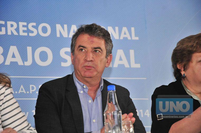 Sin vueltas. El gobernador apoyó la creación de la Agencia de Inteligencia y atacó a dos referentes opositores. Foto UNO/Juan Manuel Hernández