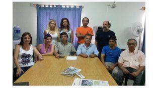Miembros de la comisión directiva de la asociación