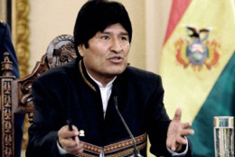 Morales expresó toda nuestra solidaridad con la compañera Cristina