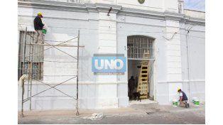 A buen ritmo. En los pabellones hubo reestructuraciones y en un anexo se habilitó un espacio para 50 internos. (Foto UNO/Javier Aragón)