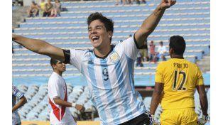 Argentina venció a Perú y confirmó su favoritismo en el Sudamericano Sub-20