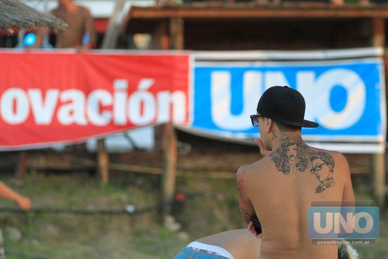Presente. Diario UNO y Ovación Extreme apoyando siempre los deportes alternativos.  Foto UNO/Juan Ignacio Pereira