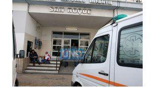 La pequeña está internada en terapia intensiva del hospital materno infantil San Roque