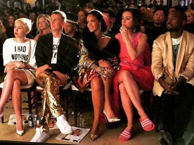 Katy Perry, Rihanna y Miley Cyrus: ¿Qué se pusieron?