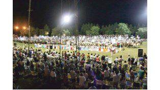 PREPARADOS. Es el festival criollo más colorido y popular de la provincia.