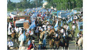TRADICIÓN. Más de 1.500 caballos desfilarán por la ciudad.