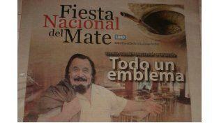 La leyenda Guarany en la Fiesta Nacional del Mate