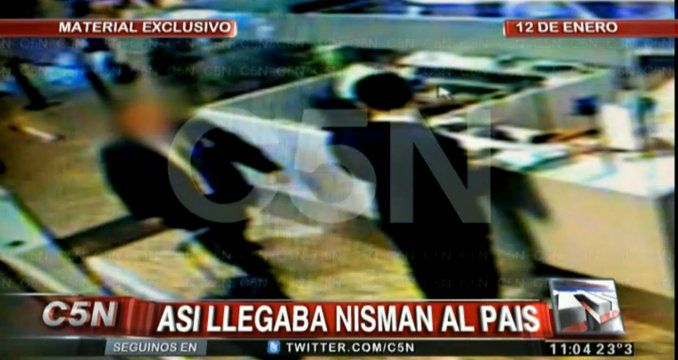 Así llegaba el fiscal Nisman a la Argentina para preparar su denuncia contra Cristina