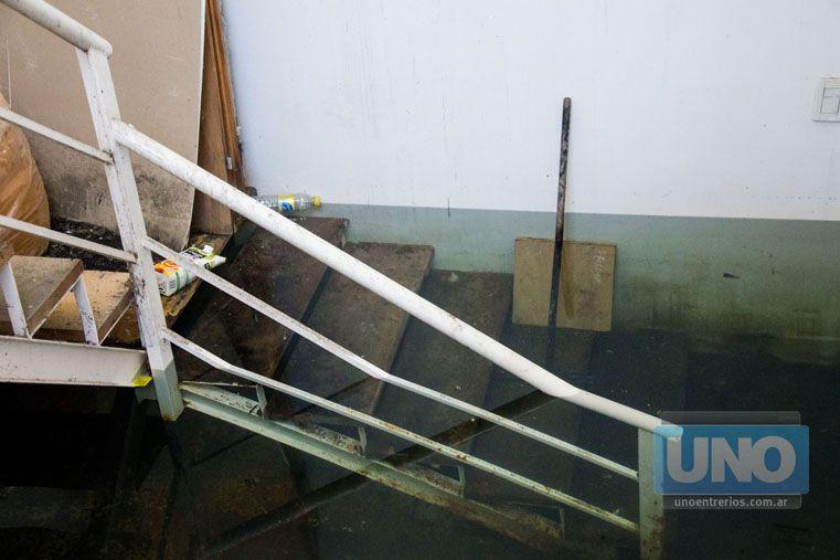 Napas. Un sector está inundado y no se usa hace años. Foto UNO/Mateo Oviedo