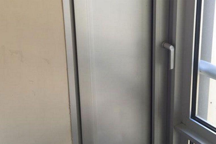 La puerta del pasadizo. (foto: @vanguardista10)