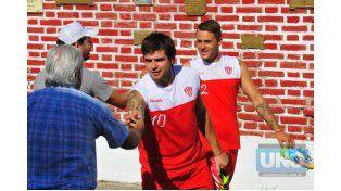 David Dri confesó que le cuesta digerir que el Decano jugará en la segunda categoría del fútbol argentino. Foto UNO/ Juan Manuel Hernández