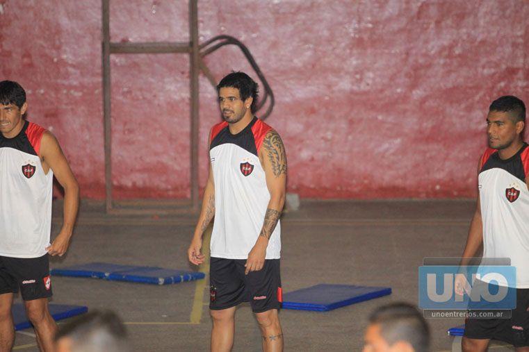 La Joya firmó un contrato por dos años con el Santo y con cláusula de rescisión después de la primera temporada.   Foto UNO/ Juan Ignacio Pereira