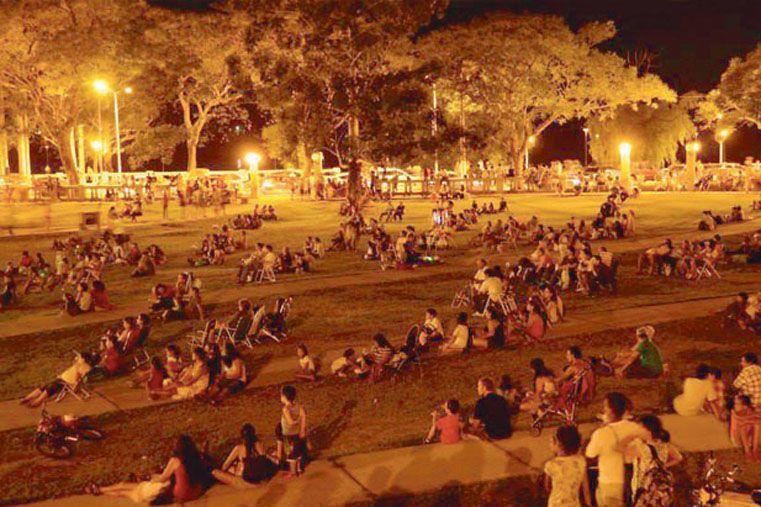 COSTA CINE.  El festival se realizará el sábado y el domingo en la costanera.