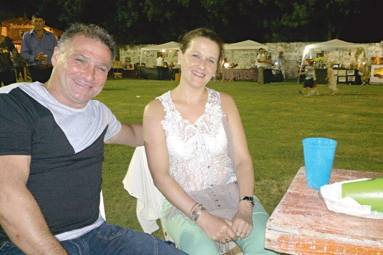 Fabián y Patricia de Crespo.