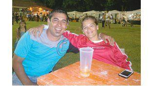 Néstor y Yanina de Nogoyá.