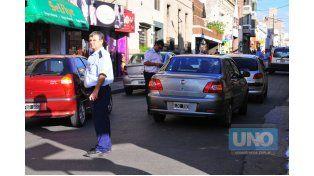 Seguridad vial. Los controles impulsaron a mucha gente a capacitarse y aprender mejor. Foto UNO/Juan Manuel Hernández