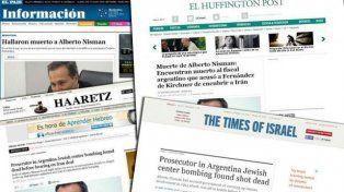 La muerte de Nisman copó los principales medios del mundo