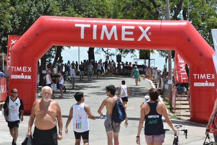 Todo listo para las principales categorías del deporte. Foto Gentileza /  Prensa Triatlón de La Paz