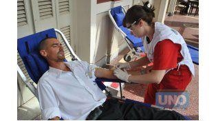 Momento. El 14 de junio de cada año se ha convenido celebrar el Día Mundial del Donante de Sangre. Foto UNO/Juan Manuel Hernández