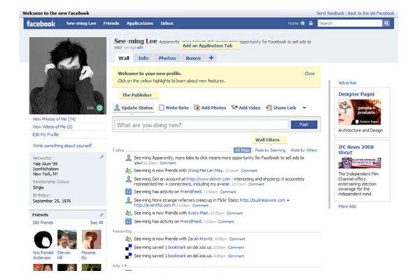 La nueva moda en Facebook: poner la primera foto de perfil