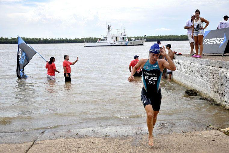 Todo listo para la acción.Foto Gentileza / Prensa Triatlón de La Paz