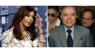 """Menem criticó la gestión de Cristina y dijo que se le va la mano"""""""