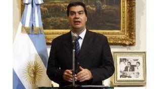 Capitanich, sobre el pedido de Nisman: el juez Canicoba Corral ha sido contundente
