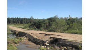 El municipio de Villa del Rosario reclama la construcción de badén sobre arroyo Morillo