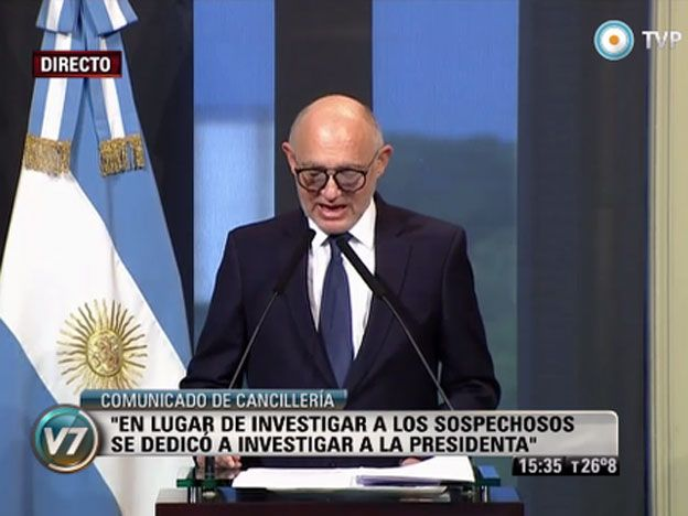 AMIA: Es muy fácil desenmascarar las mentiras de Nisman, subrayó Timerman