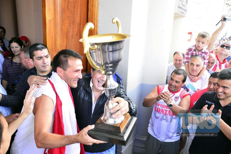 Fernando Benítez es uno de los jugadores del plantel de Atlético Paraná con más experiencia.   Foto UNO/Mateo Oviedo