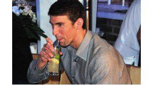 Michael Phelps (29): Pero no todos los celebs que han tenido que hacer un parón profesional son actores o modelos