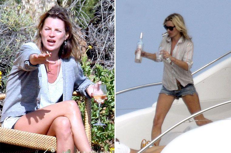 Kate Moss (40): Otra de las celebs que ha tenido que hacer un break en su actividad profesional fue la modelo inglesa Kate Moss. A pesar de ser una de las modelos más conocidas y cotizadas del mundo