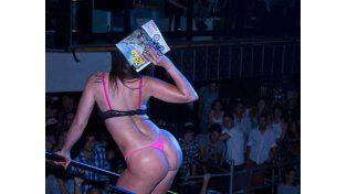 Las diosas de Revista Hombre hicieron de las suyas en Carlos Paz