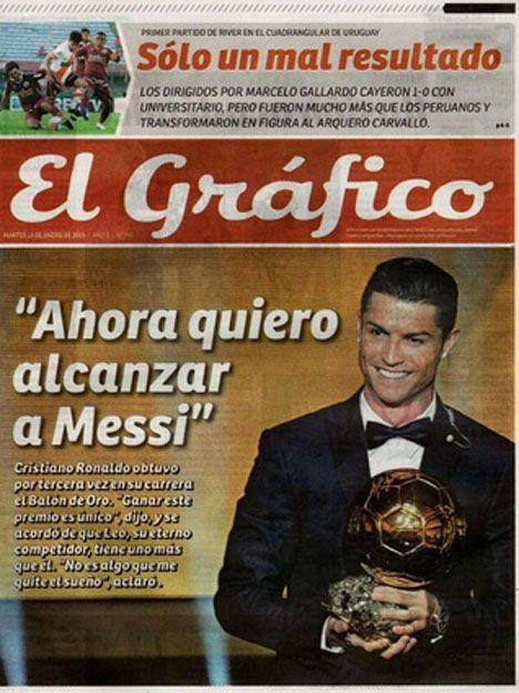 La obsesión de Cristiano por Messi