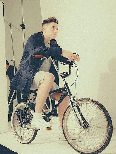Con apenas 15 añitos, el hijo de los Beckham ya tuvo su primera campaña de moda